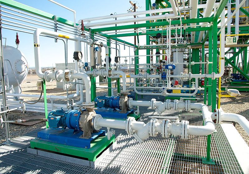 Close up pipes oberon fuels san diego plant