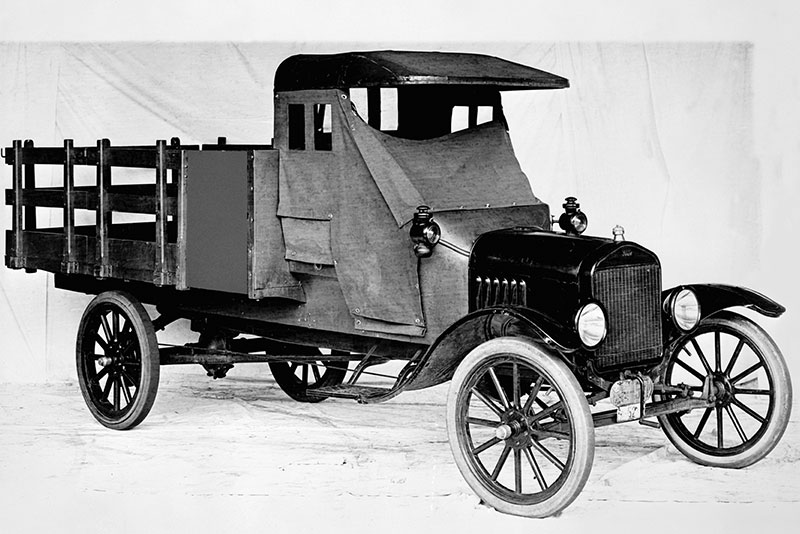 How The Ford Model TT Sparked 100 Years Of Pickup Trucks History