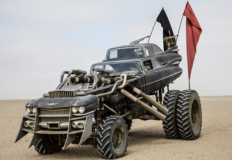 the badass vehicles of mad max fury road Mad Max Interceptor Ford Falcon