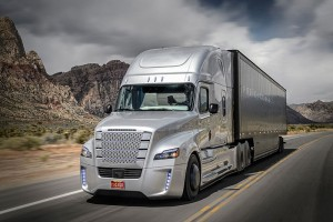 Self-Driving Freightliner Inspiration Truck Debuts