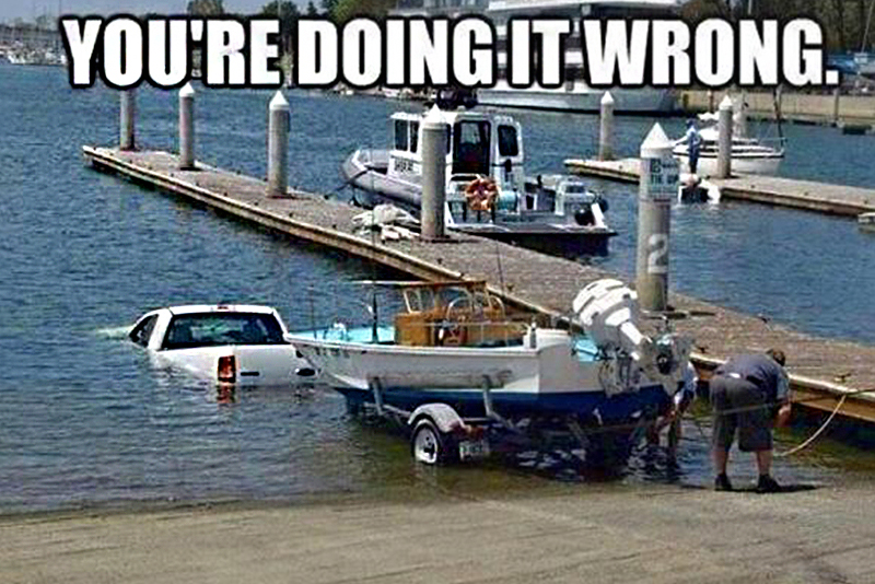 Youre Doing it Wrong Funny Truck Meme the best truck memes of the week