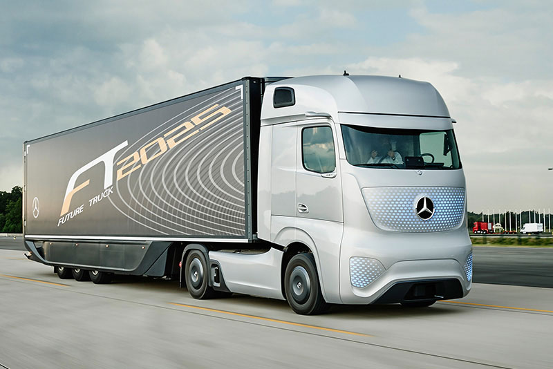 the frontrunners in autonomous trucks