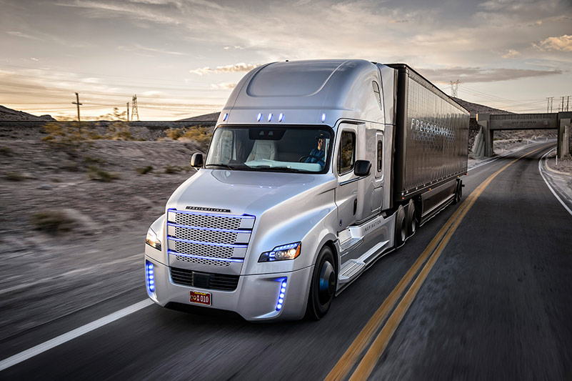 U S Self Driving Truck Forecast To Reach 60 000 By 2035