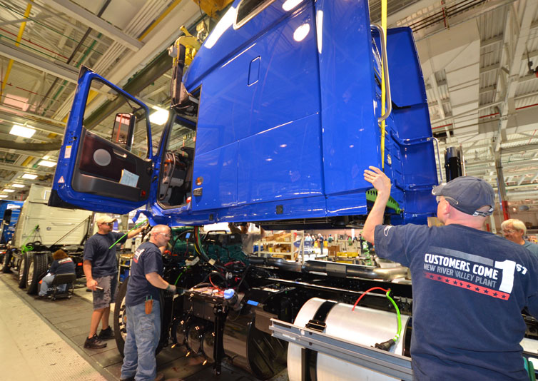 Volvo Trucks to Lay Off 300 Virginia Factory Workers ...