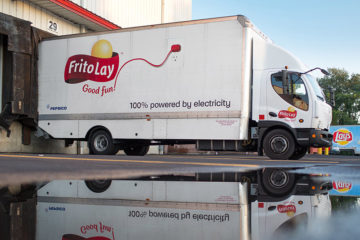 Frito Lay Electric Truck
