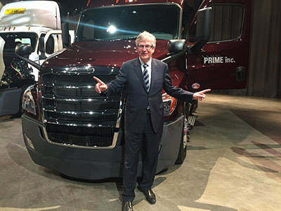 Martin Daum CEO of Daimler Trucks