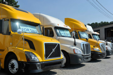 Heavy Duty Yellow and White Truck Sales