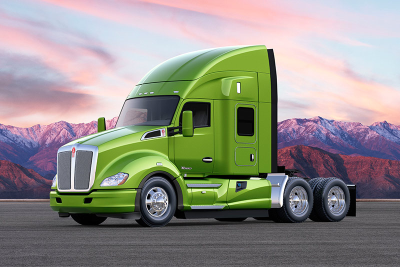 Kenworth T680 Advantage with 52-inch Mid-Roof Sleeper