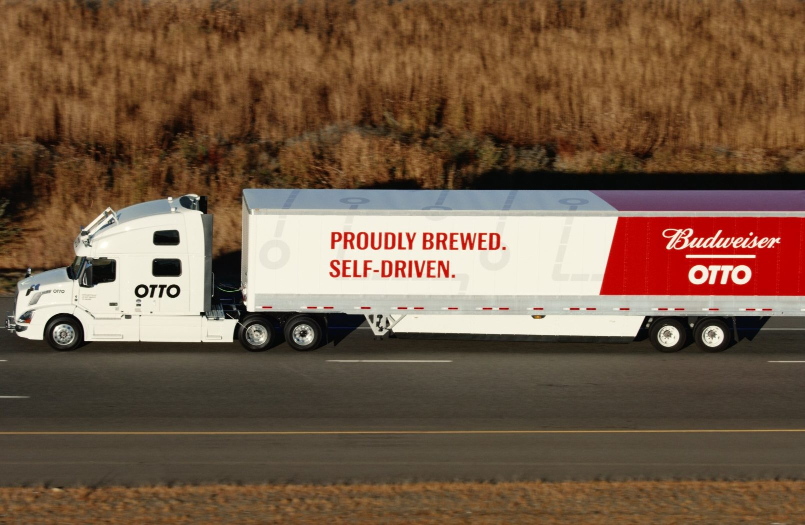 Otto Hauls Budweiser In First Commercial Use Of Self Driving Truck