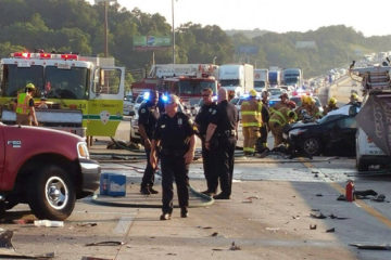 crash that killed six people near Chattanooga, Tenn.