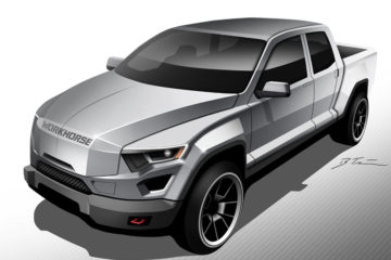 workhorse group electric pickup truck