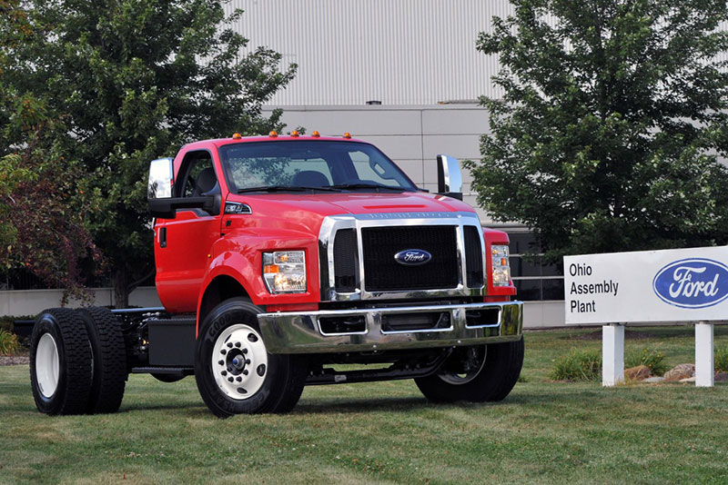 Ford F-650 and F-750 at the Ohio Assembly Plant. (Ph.jpg
