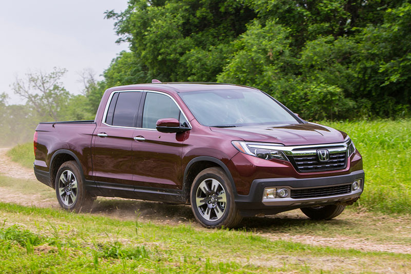 Honda Ridgeline Outshines Entire Pickup Truck Segment In Iihs Safety Rankings