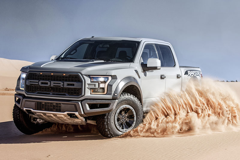 Unique 2017 Ford F-150 Raptor to be Auctioned for Charity