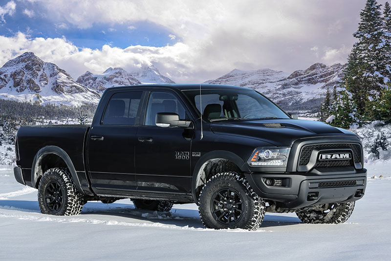 Ram 1500 Rebel Black Photo Fca