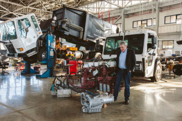 Ian Wright, Wrightspeed CEO at the Alameda Factory