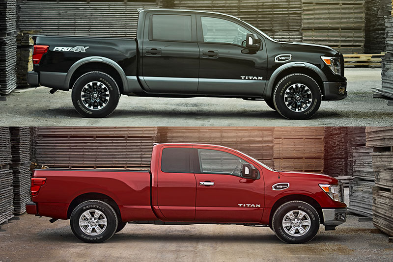 2017 nissan titan king cab shows off its new suicide doors. Black Bedroom Furniture Sets. Home Design Ideas