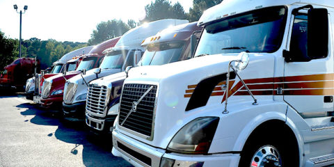 used heavy duty trucks on the lot