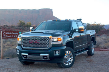 2017 GMC Sierra Denali 2500 HD black
