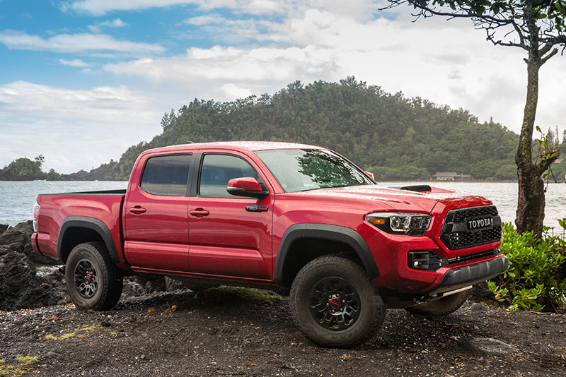 toyota s trd pro off road truck package pushes high performance. Black Bedroom Furniture Sets. Home Design Ideas