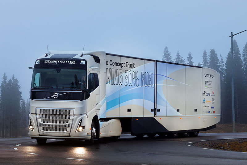 New Volvo Hybrid Truck Is Part Of Alternative Train Technology Movement
