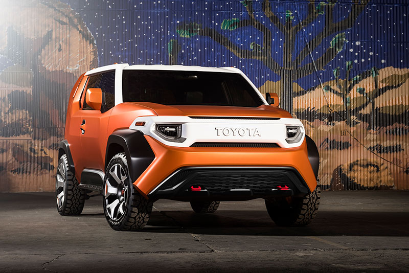 2017 New York Auto Show Toyota Ft 4x Concept Serves Up Urban Style To Millennials