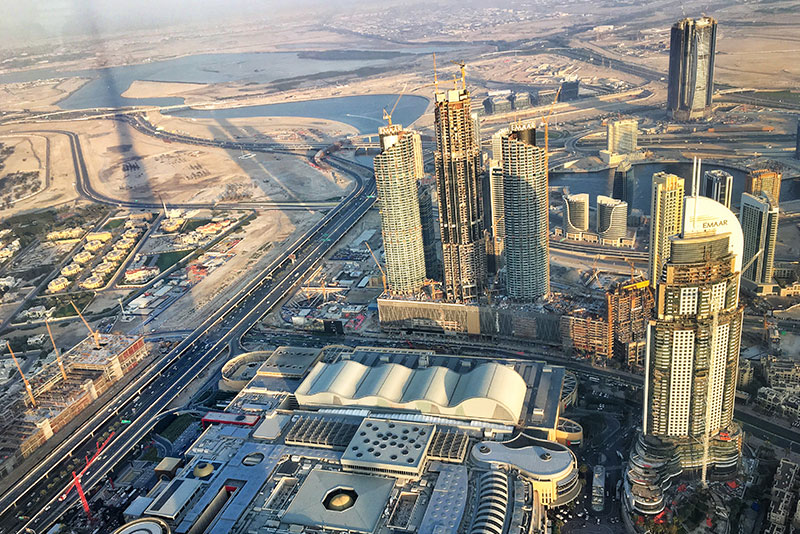 Dubai is considering building a hyperloop to move freight and people.