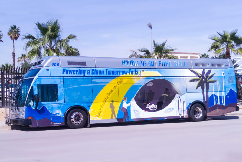 Fuel Cell Buses Get Day in Sun With $12 5 Million California Grant