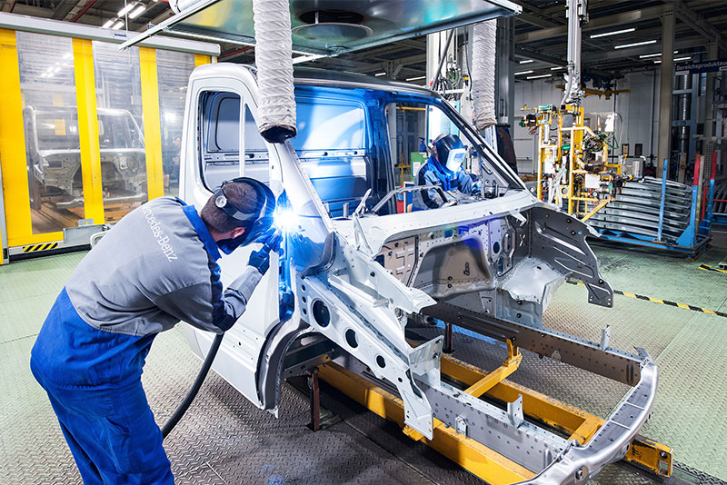 Mercedes Benz sprinter assembly Landon, S.C., plant