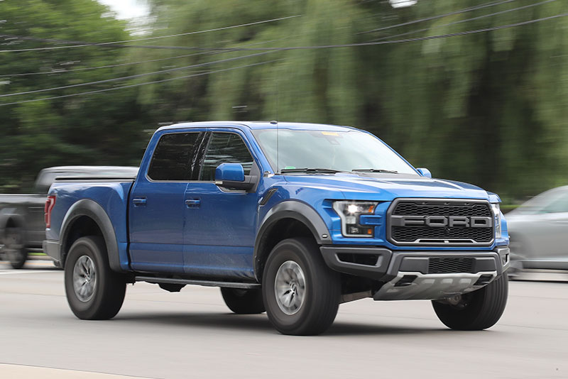 Spy Shots Naked 2018 Ford F 150 Raptor Spotted Ahead Of Debut