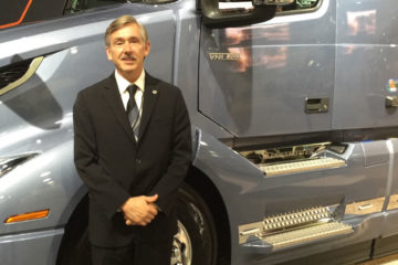 Keith Brandis, director of product planning at Volvo Trucks North America