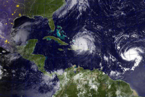 Hurricane Irma, one of the most powerful Atlantic storms in a century, churns toward the U.S.