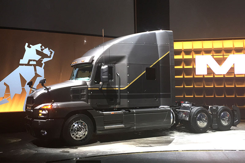 Mack unveils Anthem on-highway tractor