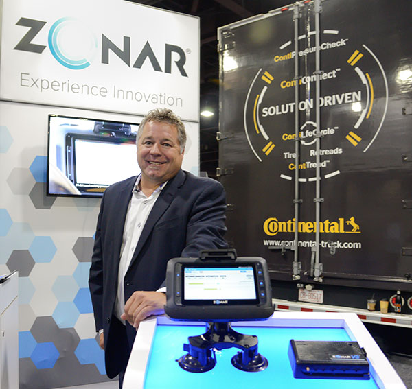 Fred Fakkema, vice president of compliance at Zonar Systems.