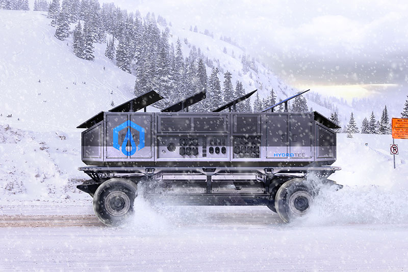 Silent Utility Rover Universal-Superstructure (SURUS) fuel cell structure