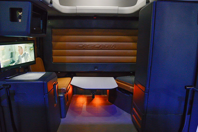 Truck Manufacturers Woo Customers With Driver Centric Interior Designs