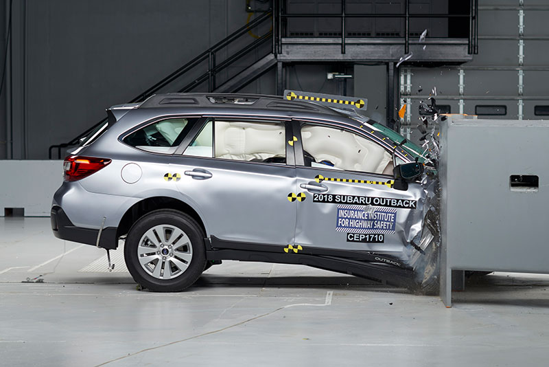 IIHS Passenger-Side Small Overlap Front Crash Test Introduced with Mixed Results