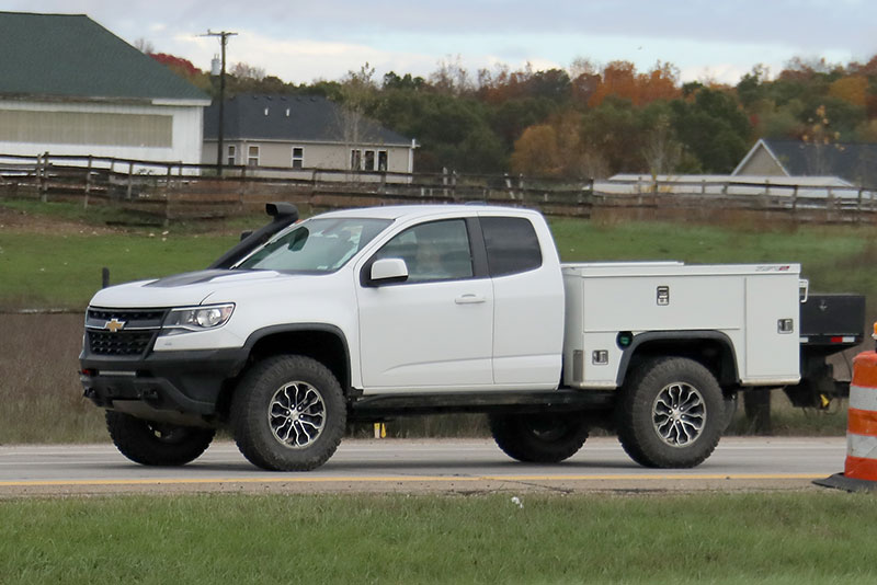 Spy Shots Chevrolet Colorado Zr2 Utility Truck Trucks Com