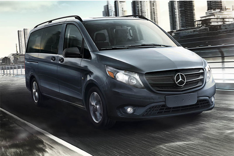 2018 Mercedes-Benz Metris black