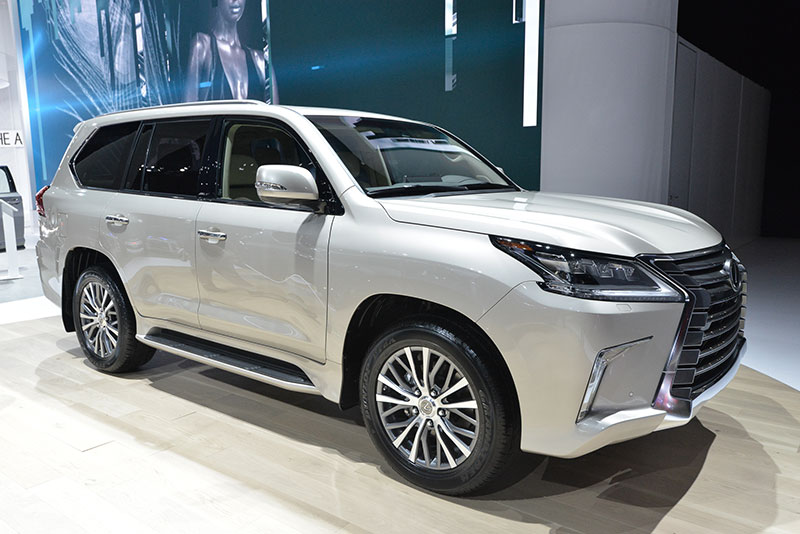 The new two-row LX