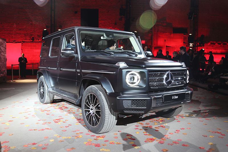 The redesigned Mercedes-Benz G-Class.