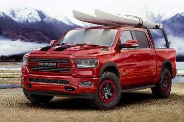 2019 Ram 1500 with mopar accessories