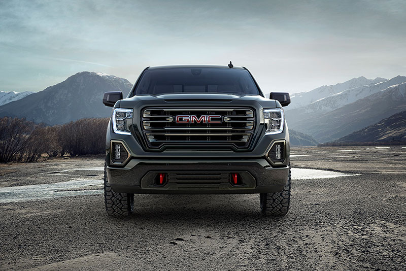 Silverado Special Editions >> 2018 NY Auto Show: GMC Sierra AT4 Takes Luxury Truck Off Road