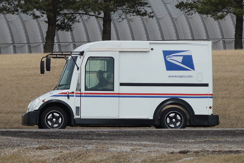 VT Hackney/Workhorse electric mail truck