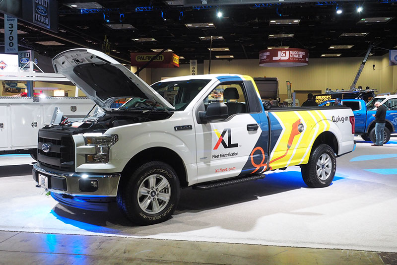 XL's F-150 XLP [or F-250 XLH] at the 2018 Work Truck Show