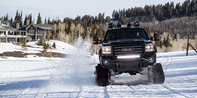 Review: GMC Sierra All Mountain Concept Is a Snowmobile on ...