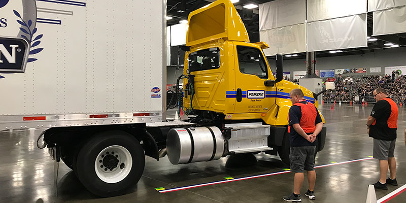 Top Truckers Square Off in ATA Driving Skills Championship