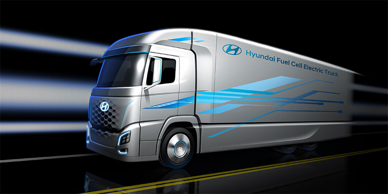 1,000 Hyundai Fuel Cell Electric Trucks Headed for