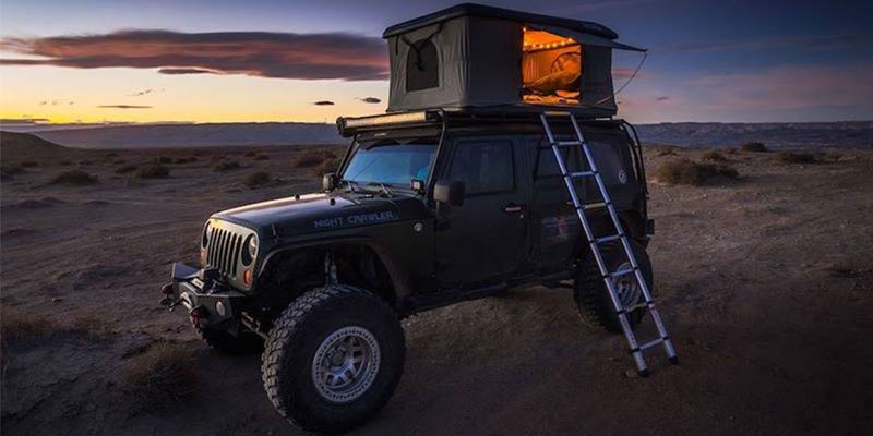 The Roofnest Eagle Is a Good Hardshell Rooftop Camping Tent
