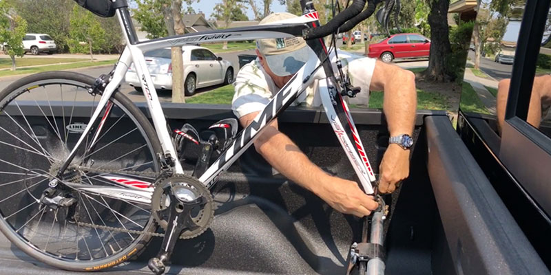Our Evaluation of the Homemade Pickup Bed Bike Rack System